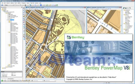 Bentley PowerMAP v8i (08.11.05.13) English