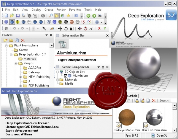Right Hemisphere Deep Exploration CAD Edition v5.7.3.4977