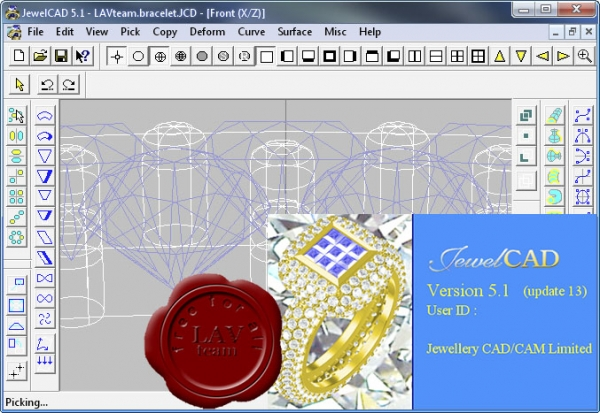 Jewellery CAD/CAM Ltd. JewelCAD v5.10 Update 13