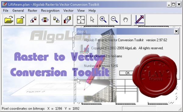 AlgoLab Raster to Vector Conversion Toolkit v2.97.62