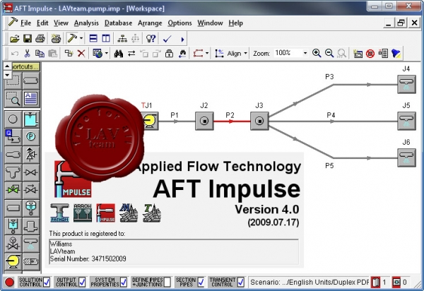 Applied Flow Technology Impulse v4.0