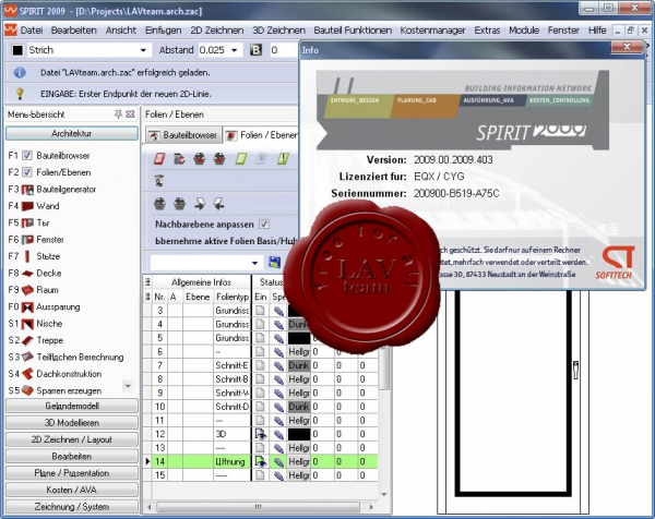 Softtech Spirit v2009.00 build 403