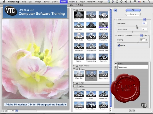 VTC Adobe Photoshop CS4 for Photographers Video Tutorials