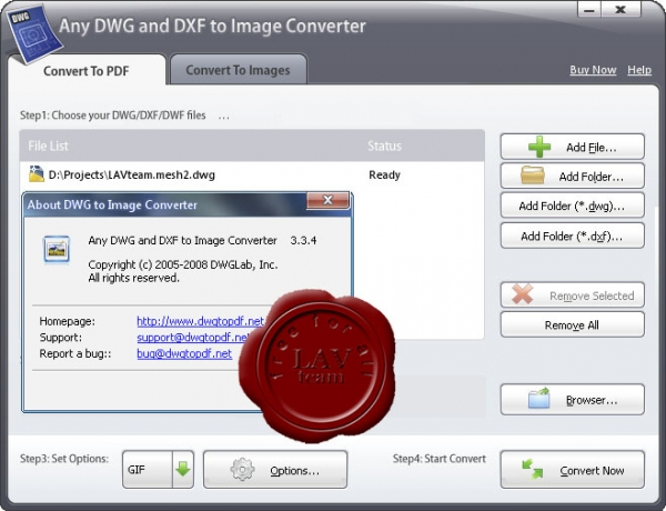 DWGLab Any DWG and DXF to Image Converter v3.3.4