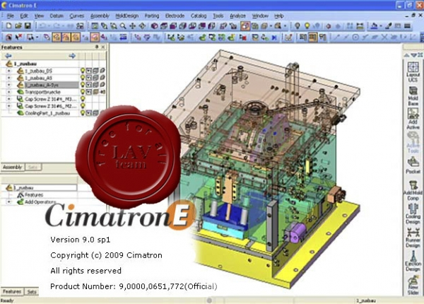 Service Pack 1 for CimatronE v9.0 2009