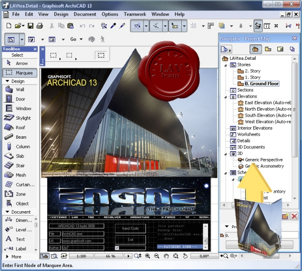 Graphisoft Archicad v13.3000 INT ENG x86