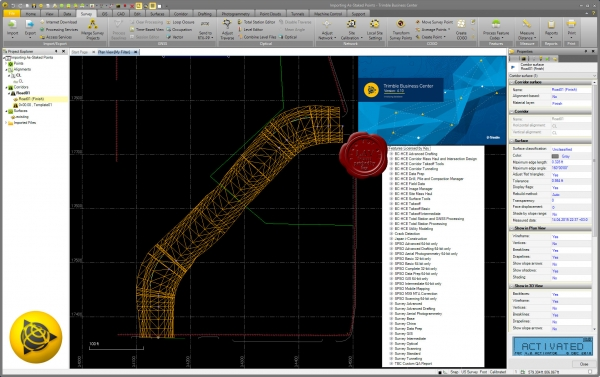 Trimble Business Center v4.10.1