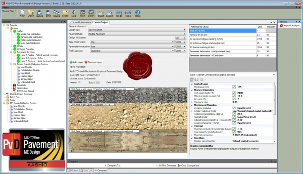 AASHTOWare Pavement ME Design 2013 v1.3.28