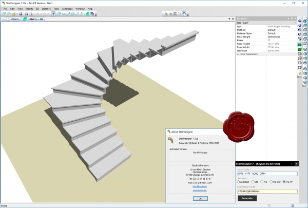 Boole & Partners StairDesigner Pro-PP v7.11a