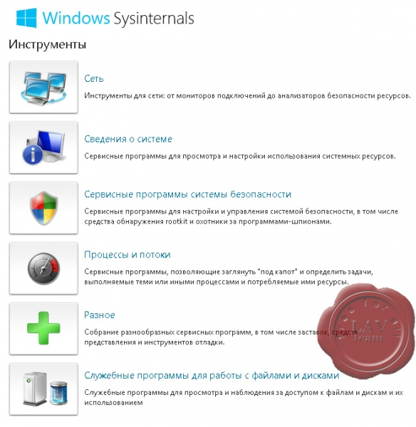Microsoft Sysinternals Suite build June, 28 2019