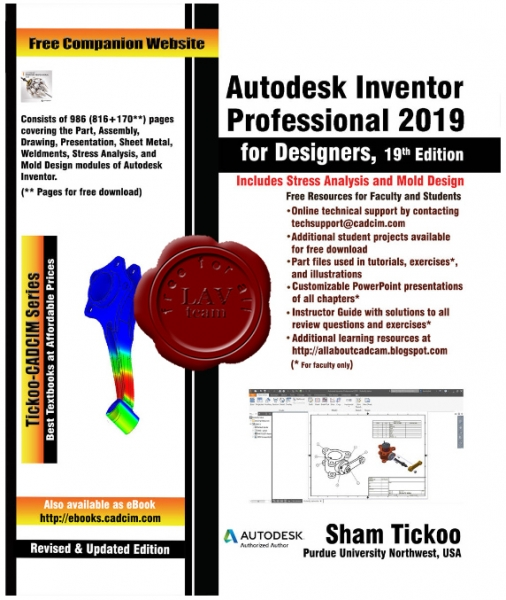 Autodesk Inventor Professional 2019 for Designers