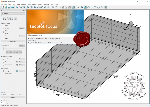 Tecplot Focus 2019 R1 build 2019.1.0.98642