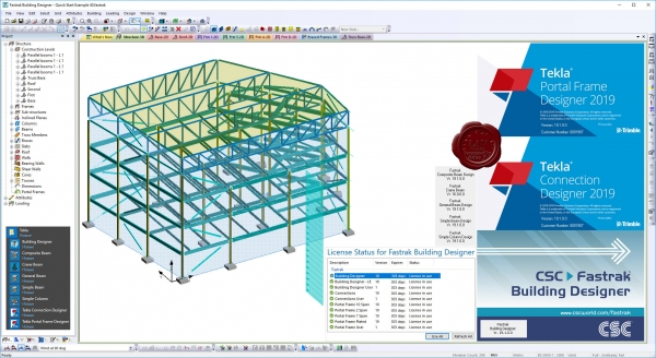 Trimble Tekla Portal Frame & Connection Designer 2019 v19.1.0