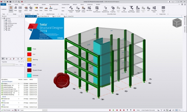 Trimble Tekla Structural Designer 2019i SP1 v19.1.1.42