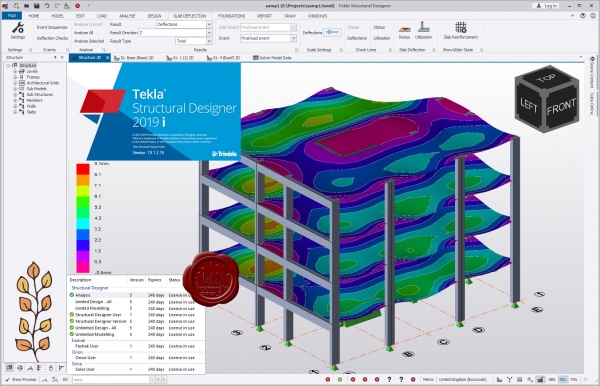 Trimble Tekla Structural Designer 2019i SP2 v19.1.2.162