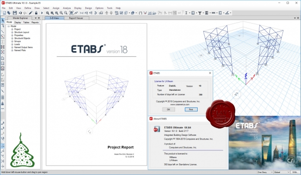 CSI ETABS v18.1.0 build 2117 x64