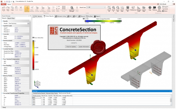 IES ConcreteSection v2.00.0002