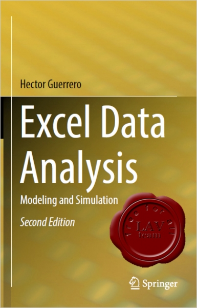 Excel Data Analysis Modeling and Simulation