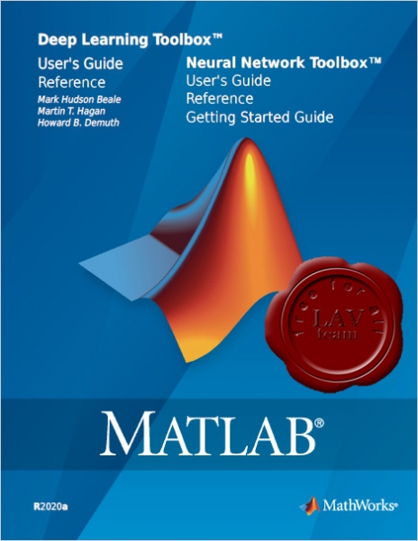 MathWorks Matlab 2020a - Deep Learning & Neural Network Toolboxes
