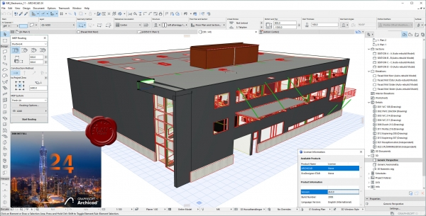 Graphisoft Archicad 24 build 3008 INT