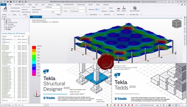 Trimble Tekla Structural Design Suite 2020