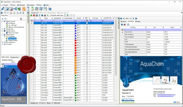 Schlumberger Waterloo AquaChem 9 build 17.20.0220.6
