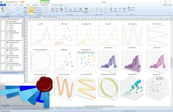 Golden Software Grapher v16.3.410