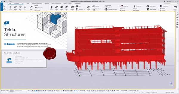 Trimble Tekla Structures 2020 SP3 build 62435