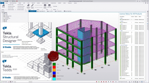 Trimble Tekla Structural Design Suite 2020 SP5