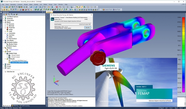 Siemens Simcenter FEMAP 2021.1