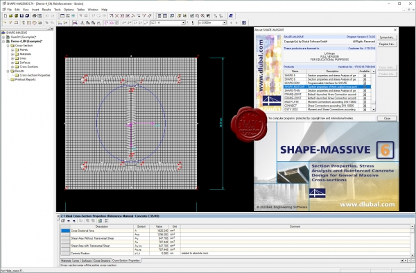 Dlubal SHAPE-MASSIVE v6.74.02