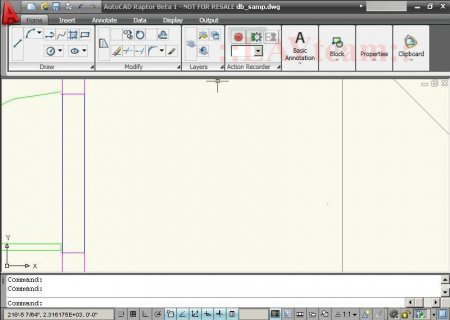 CAD-News // AutoCAD 2009 Beta 1 (Raptor) User Interface