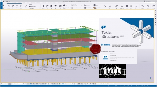 Trimble Tekla Structures 2021 SP0 build 2894