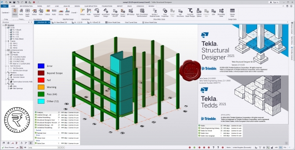 Trimble Tekla Structural Design Suite 2021 SP
